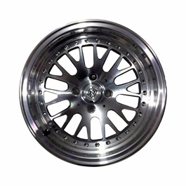 Alloy Rim 100 PCD 4 Hole Style A - 15 inches-SehgalMotors.Pk