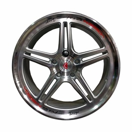 Alloy Rim 100 PCD 5 Hole - 15 inches-SehgalMotors.Pk