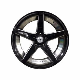 Alloy Rim 114 PCD 5 Hole Style A- 17 inches-SehgalMotors.Pk