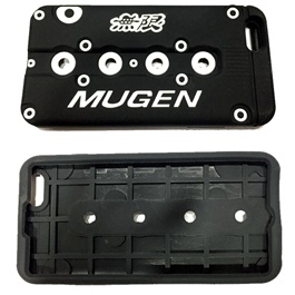 Mugen iPhone 6 Plus PVC Cover Black-SehgalMotors.Pk
