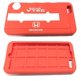 Honda iPhone 6 Plus PVC Cover Red-SehgalMotors.Pk