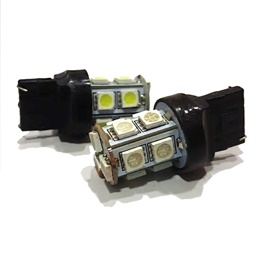 13 SMD Indicator Bulb Yellow Color - Pair-SehgalMotors.Pk