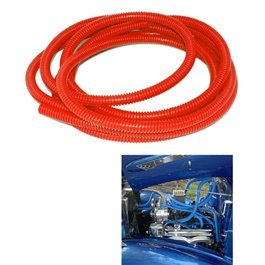 Car Engine Colorful Pipes Wire Dressing Kits Red-SehgalMotors.Pk