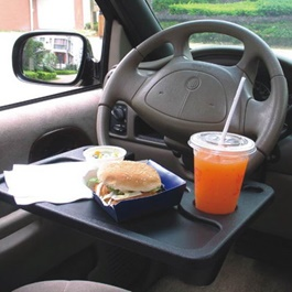 Car Multi Functional Tray | Car Seat Dining and Laptop Tray Holder Table | Tray Multifunctional Dining Table-SehgalMotors.Pk