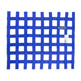 Sparco Safety Car Window Net Blue