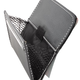 Mobile Pocket Organizer in Leather-SehgalMotors.Pk