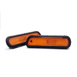 JDM Rear Marker in Orange Color | Side Marker Lights | Car External Lights Warning Tail Light | Turn Signal LED Marker Light-SehgalMotors.Pk