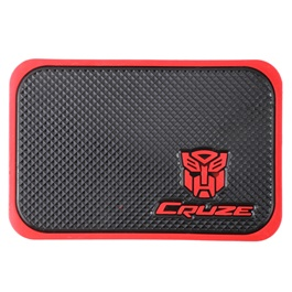 Cruze Red Dashboard Non Slip Mat Small