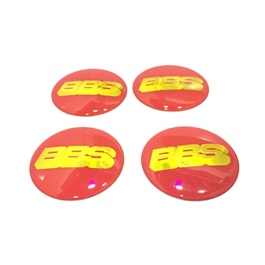 BBS Wheel Cap Logo - 4 Pieces-SehgalMotors.Pk