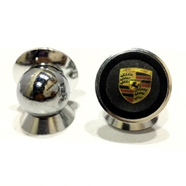 Mobile Holder Magnet with Porsche Logo-SehgalMotors.Pk