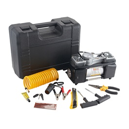 2 Cylinder Heavy Duty Air Compressor Tool Kit-SehgalMotors.Pk