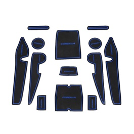 Toyota Corolla Interior Mats Blue - Model 2014-2017-SehgalMotors.Pk