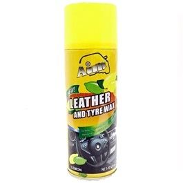 Aim Leather and Tire / Tyre Wax Lemon-SehgalMotors.Pk