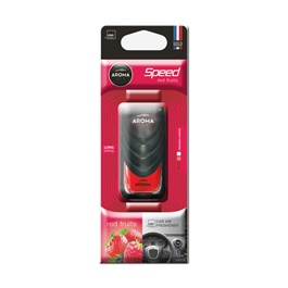 AROMA Speed Master AC Dispenser - Red Fruits | Car Perfume | Fragrance | Air Freshener | Best Car Perfume | Natural Scent | Soft Smell Perfume-SehgalMotors.Pk