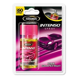 AROMA Intenso Liquid Spray - Pink GrapeFruit | Car Perfume | Fragrance | Air Freshener | Best Car Perfume | Natural Scent | Soft Smell Perfume-SehgalMotors.Pk