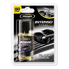 AROMA Intenso Liquid Spray - Black Jack  | Car Perfume | Fragrance | Air Freshener | Best Car Perfume | Natural Scent | Soft Smell Perfume-SehgalMotors.Pk