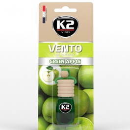 K2 Vento Air Freshener Car Perfume Fragrance Green Apple-SehgalMotors.Pk