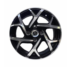 Alloy Rim SYZ 100 PCD 4 Hole - 14inches-SehgalMotors.PK