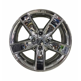 Alloy Rim Chrome 100 PCD 4 Hole - 15inches-SehgalMotors.Pk