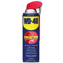 WD40 Anti-Rust Lubricant , Penetrating Oil and water-displacing spray - 420ml-SehgalMotors.Pk