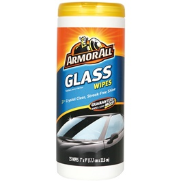 Armor All Glass Wipes Crystal Clear With Streak Free Shine -SehgalMotors.Pk