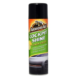 Armor All Cockpit Shine Lemon Fresh - 500 ML | Dust Repellent | Scent Cleaner | Dashboard Cleaner | Car Cleaning Product | Protect Interior | Car Care | For Interior Shining-SehgalMotors.Pk