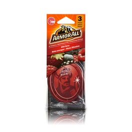 Armor All Air Freshener Car Perfume FragranceCard Wild Berry - 3ct-SehgalMotors.Pk