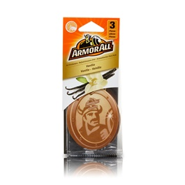 Armor All Air Freshener Car Perfume FragranceCard Vanilla - 3ct-SehgalMotors.Pk