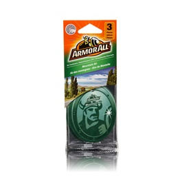 Armor All Air Freshener Car Perfume FragranceCard Mountain Air - 3ct-SehgalMotors.Pk
