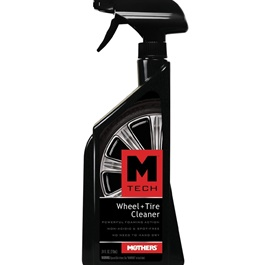 Mothers M-Tech Wheel & Tire / Tyres Cleaner - 24oz  | Wheel Cleaner Spray | Auto Tire Cleaning Agent | Portable Car Rim Care Wheel Ring Cleaner | Rim Cleaning Tool For Car Truck Motorcycle | Wheel Cleaner-SehgalMotors.Pk