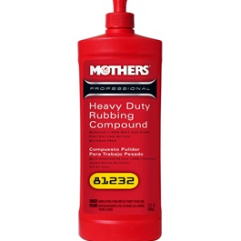 Mothers Heavy Duty Rubbing Compound - 32oz