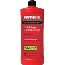 Mothers Pro Rubbing Compound - 32oz-SehgalMotors.Pk