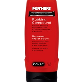 Mothers Professional Rubbing Compound - 12oz-SehgalMotors.Pk