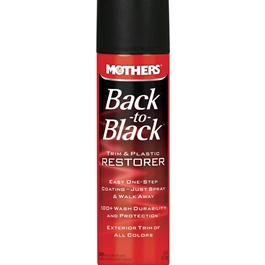 Mothers Back to Black Trim & Plastic Restorer - 10oz-SehgalMotors.Pk