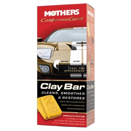 Mothers California Gold Clay Bar System Kit-SehgalMotors.Pk