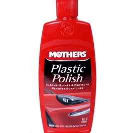 Mothers Plastic Polish - 8oz-SehgalMotors.Pk