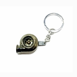 Turbo Style Key Chain / Key Ring-SehgalMotors.Pk