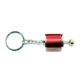 Gear Box Red Key Chain / Key Ring-SehgalMotors.Pk