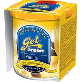 Areon Gel Can vanilla-SehgalMotors.Pk