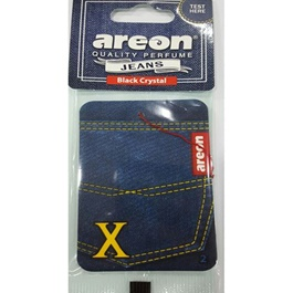 Areon Jeans Card Black Crystal-SehgalMotors.Pk