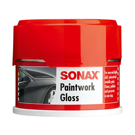 Sonax Paintwork Gloss - Spanish Version |  Hydrophobic Wax Car Paint Care Coating |  | Polish For Car Body | Easy Operation For Caring And Maintenance Clean | Car Polishing Body Solid Waterproof Wax | Car Polish | Car Care Product | Paint Care Protection Wax-SehgalMotors.Pk