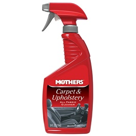 Mothers Carpet & Upholstery Cleaner - 24 OZ  | Car Seat Interior Cleaner Auto Carpet Clean Dressing Cleaner for Fabric Plastic Vinyl Leather Surfaces Car Accessories | Car Interior Agent Ceiling Cleaner Home Flannel Woven Fabric Water Free Cleaning Agent Interior Cleaner | Fabric Cleaner Car Interior Agent Home Dual Use-SehgalMotors.Pk