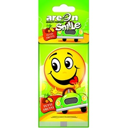 Areon Dry Smile Tutti Frutti Car Perfume Fragrance Air Freshener -SehgalMotors.Pk