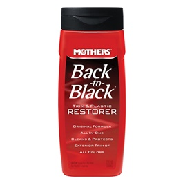 Mothers Back to Black Trim and Plastic Restorer - 12 OZ-SehgalMotors.Pk