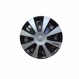Sparco Silver Wheel Cup - 15 inches