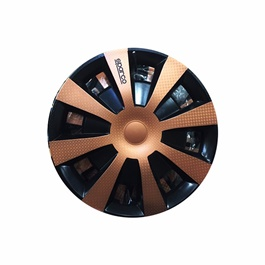 Sparco Bronze Wheel Cup - 15 inches