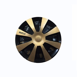 Sparco Gold Wheel Cup - 15 inches