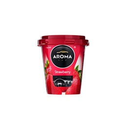 Aroma Gel Car Perfume Fragrance Cup Strawberry-SehgalMotors.Pk