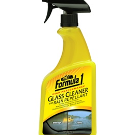 Formula 1 Glass Cleaner with Rain Repellant  | Rain & Water Repellent Nano Hydrophobic Window Protectant | Car Front Windshield Anti-Rain Agent Rear View Mirror | Rain Repellent Agent-SehgalMotors.Pk