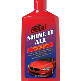 Formula 1 Shine It All Polish and Sealant | No Powdery Residue Dries Clear With Little Buffing | | Car Polish | Liquid Polish | Best Wax | Car Care Product | Best Polish | Car Cleaning Agent |  Polish For Car Body | Easy Operation For Caring And Maintenance Clean |  Hydrophobic